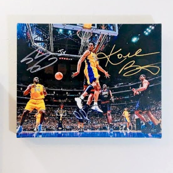 Canvas or Poster Print B SHAQUILLE O/'NEAL PRINT Choose Size /& Media Type